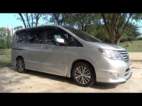2014 Nissan Serena S-Hybrid Highway Star Start-Up and Full Vehicle Tour