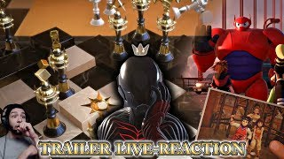 The Kingdom Hearts III Big Hero 6 Full Trailer - Reaction Livestream