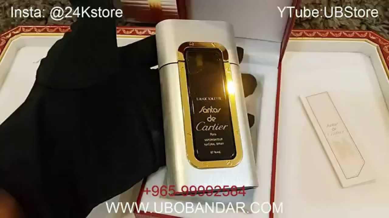 Cartier 50ml New Perfume Santos De Vintage Rare SpqULGzMV