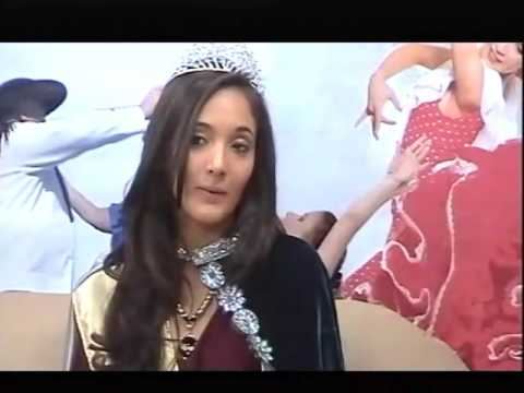 María Fernanda Silva - Reina Departamental de los Estudiantes - 06-09-2016
