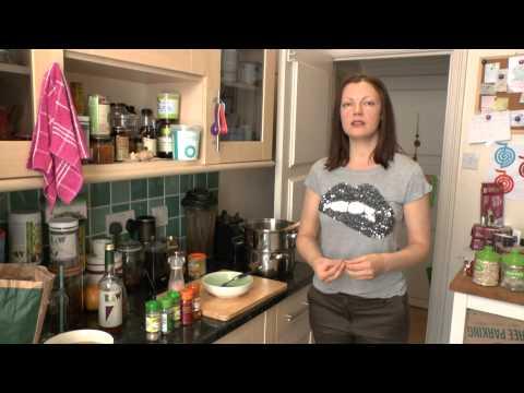 Rohkost und Kartoffel Suppe