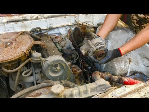Restoration Old Camry Car Generator | Restore And Reuse Toyota Camry 2.0 Automobile Generator