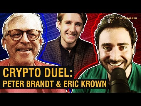 Crypto Duel: Will Bitcoin Ever Hit $100K? | Peter Brandt & Erik Crown Cryptocurrency Videos on VIRAL CHOP VIDEOS