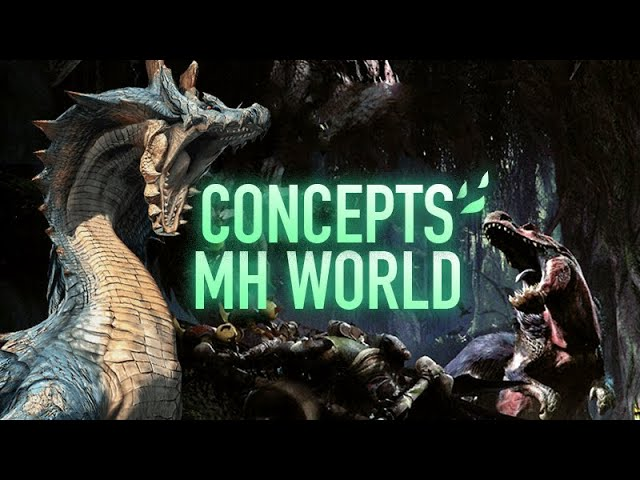 Vidéos Concepts/Alpha de Monster Hunter World - GDC 2018
