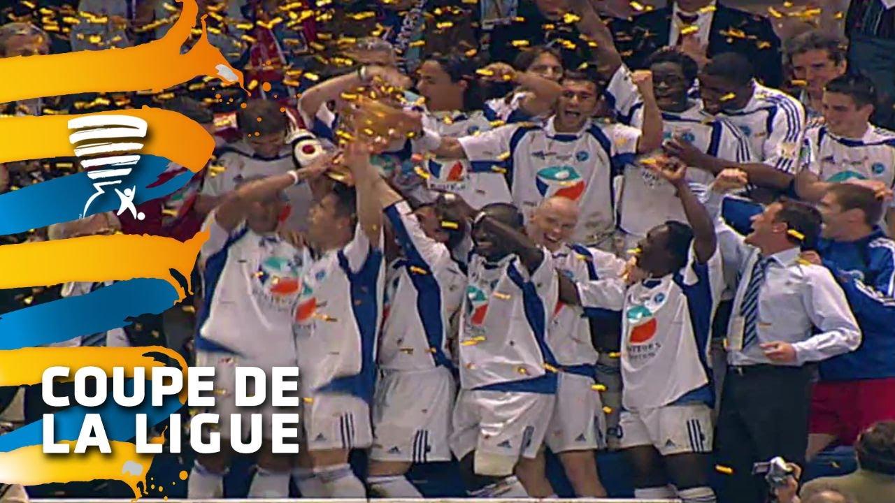 Sm caen rc strasbourg 1 2 finale coupe de la ligue 2005 r sum youtube - Foot coupe de la ligue tv ...