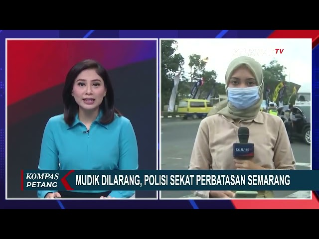Polres Rembang Sekat Perbatasan Jateng Jatim Mulai 6 Mei