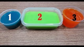 3 Ways To Make Slime No Glue! Easiest Slime In The World! MUST WATCH