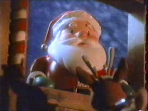 1990 Duracell Christmas Commercial: Rudolph the Red-Nosed Reindeer & Santa Claus
