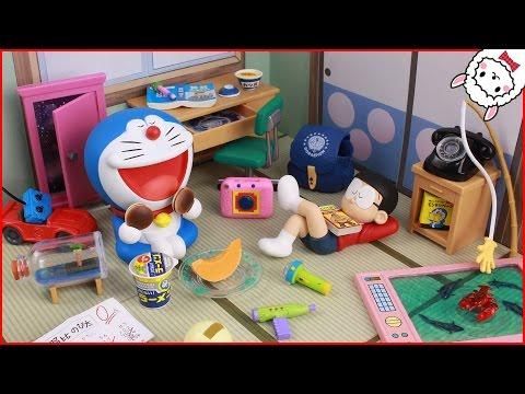 Generate Doraemon toy everyday adventure ドラえもん おもちゃ のび太の毎日が大冒険 Re-MeNT Đồ chơi trẻ em Pictures