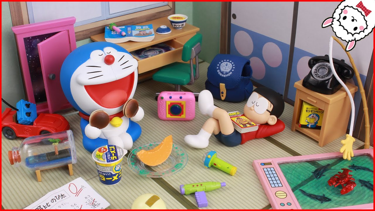 Doraemon toy everyday adventure doraemon toy everyday adventure re ment youtube voltagebd Images