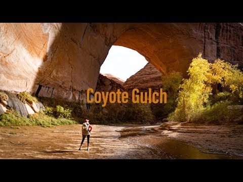 Backpacking Coyote Gulch In 4K | Grand Staircase Escalante | Backpacking Utah