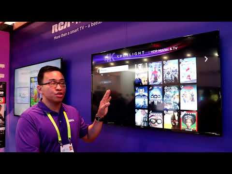 Roku OS 8 Demo at CES 2018