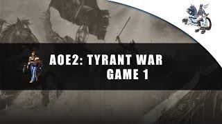 The TyRanT War! 4v4 [Game 1]