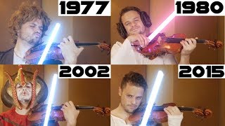 Evolution of Star Wars Music | 1977-2015