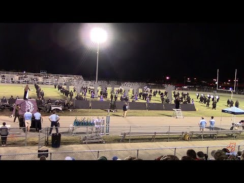 Union Pines High School Marching Vikings at Midway 10/5/2019