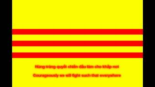 National Anthem of South Vietnam (with lyrics)