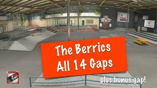 The Berrics - All 14 Gaps - True Skate
