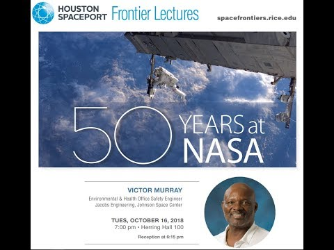 """RSI Spaceport Lecture: """"50 Years at NASA"""" - Victor Murray"""
