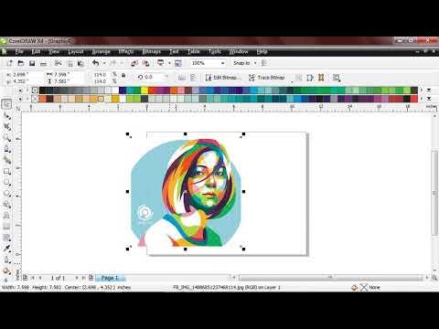 Step by Step Membuat Palet Sendiri Dengan Color Picker #CorelDRAW