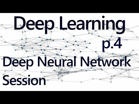 Running our Network  - Deep Learning with Neural Networks and TensorFlow