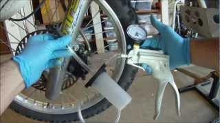 Motorcycle Brake Bleeding with Mityvac