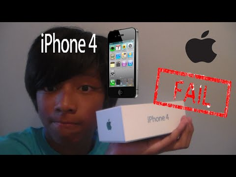 IPHONE 4 FAILED UNBOXING!!!