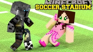 Minecraft: LOST IN A SOCCER STADIUM! - HIDDEN BUTTONS 5 - Custom Map thumbnail