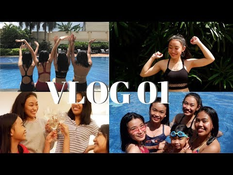 VLOG 01 : SLUMBER PARTY + Dalagang Pilipina Challenge ft. Cousins and Auntie | Therese Nicole