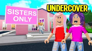 EVIL School Was SISTERS ONLY.. You Won't Believe What We FOUND! (Roblox Bloxburg)