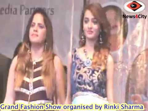Fashion Show organised by Rinki Sharma