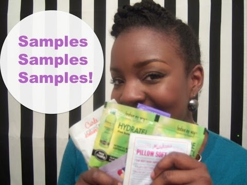 Natural Hair: Product Reviews and Samples Galore! - YouTube