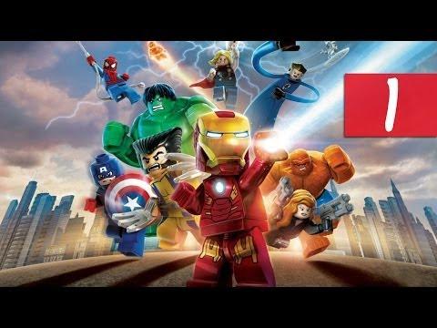 Lego Marvel Super Heroes - Walkthrough - Part 1 - Insulting Hulk   DanQ8000