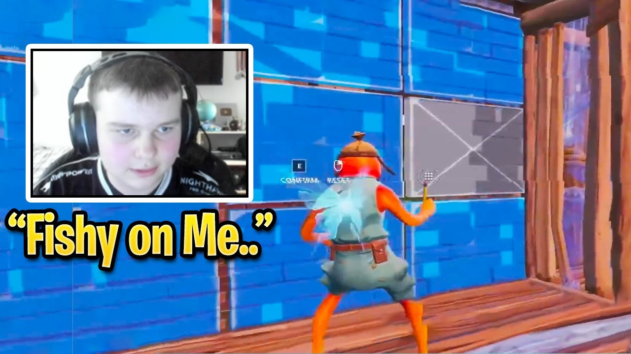 Benjyfishy is not human.. (Fortnite Season 3)
