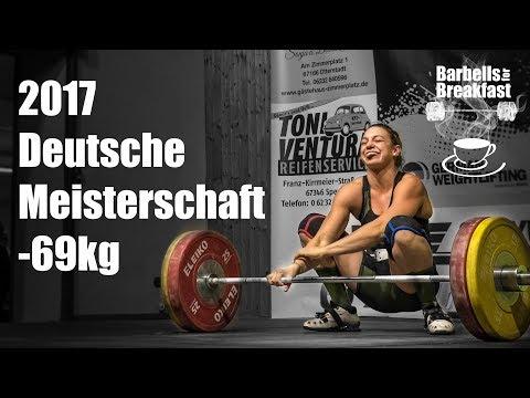 2017 Deutsche Meisterschaft Gewichtheben Frauen bis 69kg