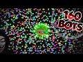 AGARIO 160 BOTS/MINIONS ON RAGA AGARIO !! BOTS ARE BACK ON AGARIO !! Agar.io 👑