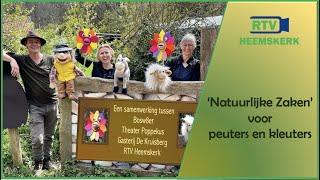'Natuurlijke Zaken' voor peuters en kleuters