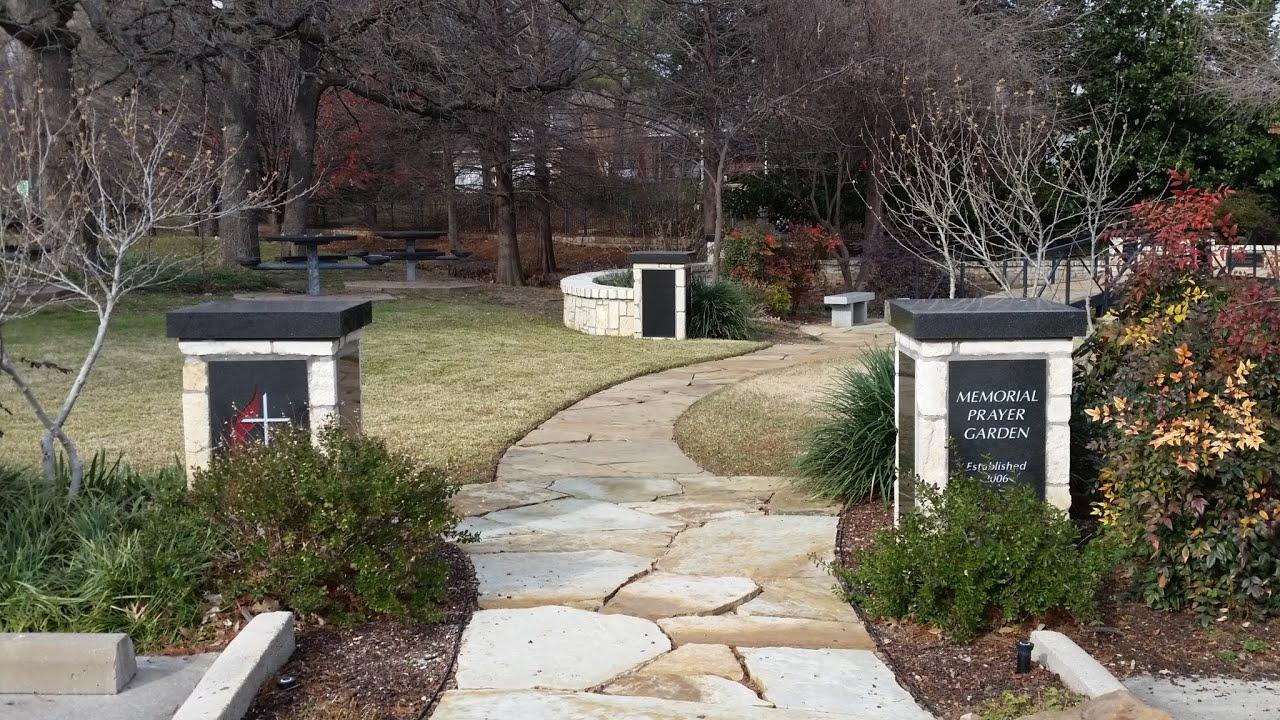 inspire tour memorial prayer garden fumc colleyville youtube