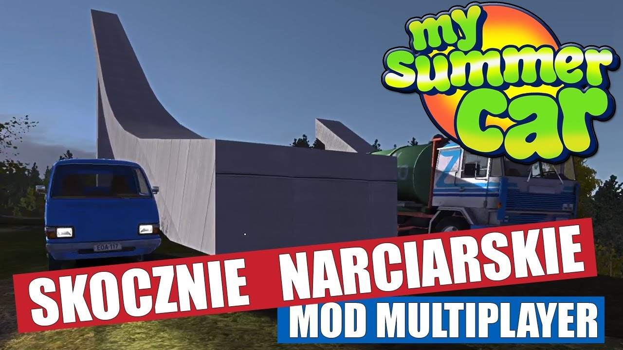ZJAZD ZE SKOCZNI NARCIARSKIEJ – MSC Multiplayer – My Summer Car #96
