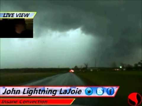 April 17th 2013 Storm Chase Lawton, Oklahoma