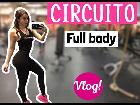 CIRCUITO FULL BODY | Vlog