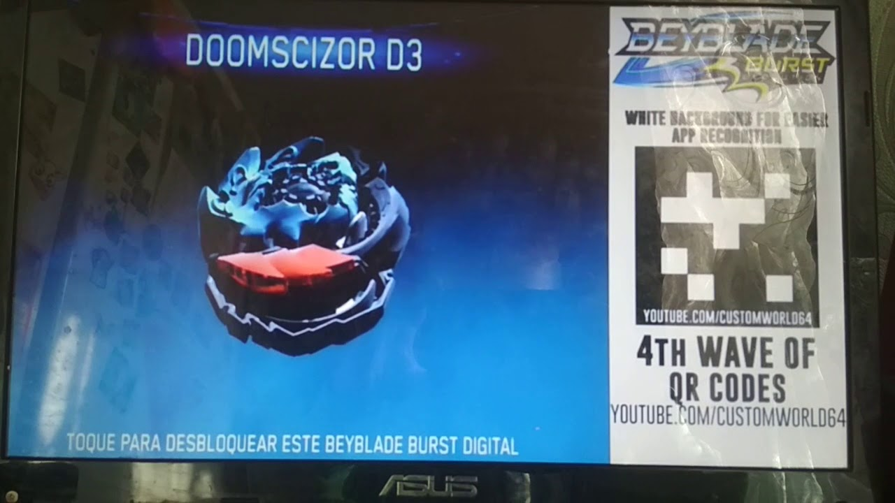 Caynox Beyblade Burst Qr Code