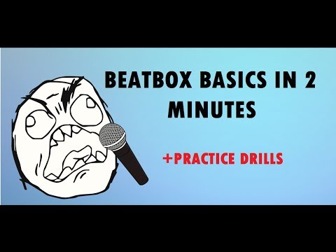Beatbox Basics in 2 Minutes (+ Practice drills) | TUTORIAL thumbnail