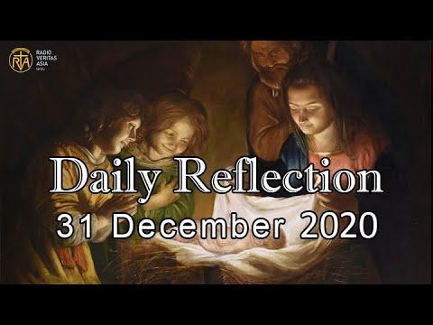 Daily Reflection for 31st December 2020   Urdu Gospel   Urdu Bible Reading