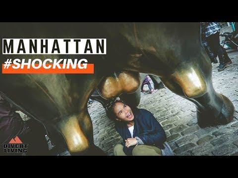 AUTUMN Street Downtown Manhattan Tour ! New York City 2018 🇺🇸🍂