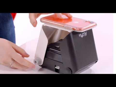 Kiipix Impresora De Fotografías Para Smartphone Youtube