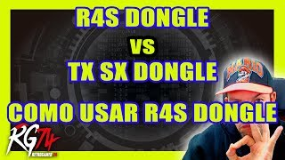 R4S Dongle vs TX SX Dongle. Cómo usar el R4S Dongle.