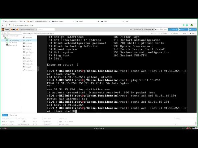 Pfsense 101 - v2 4 - part 1 - setup 2 pfsense virtualized in