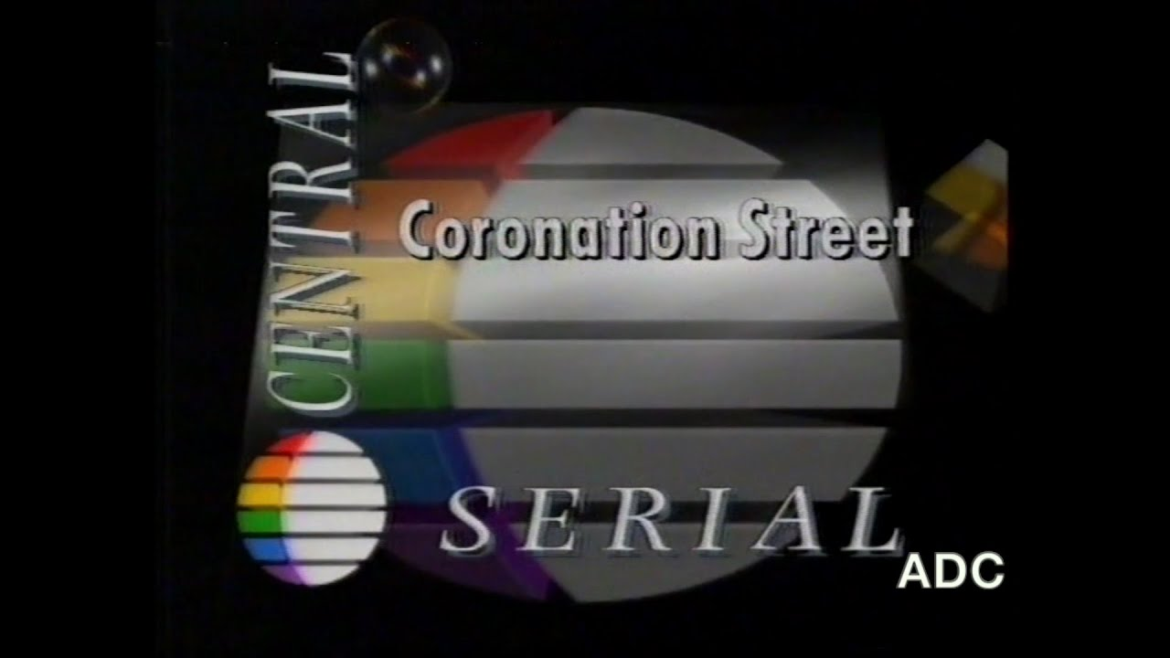 Central TV trailers adverts & link announcer Ted May 7th August 1991