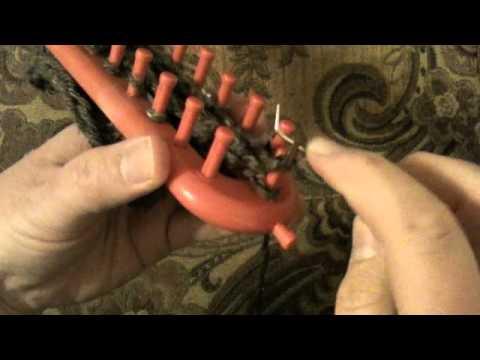 Loom Knitting How To Decrease Bind Off Youtube