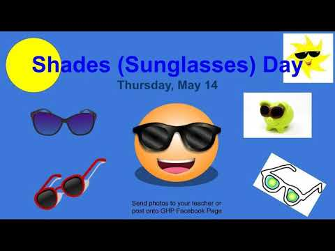 Glenwood Heights Primary Spirit Week May 11th-15th
